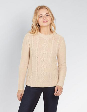 Esther Cable Cashmere Sweater