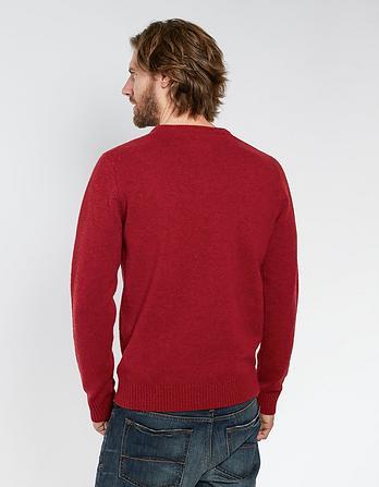 Stag Outline Christmas Jumper