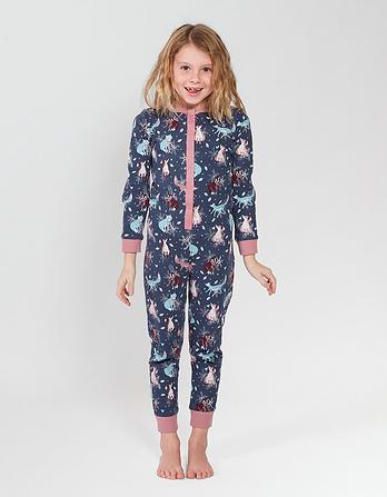 Fox Glow In The Dark Onesie