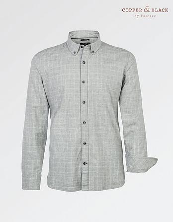 Marl Windowpane Check Shirt