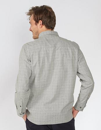 Marl Windowpane Check Shirt