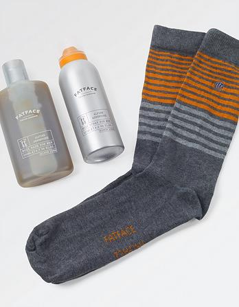 Alpine Adventure Duo and Socks Gift Set