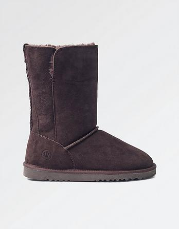 Amber Suede Mid Boots