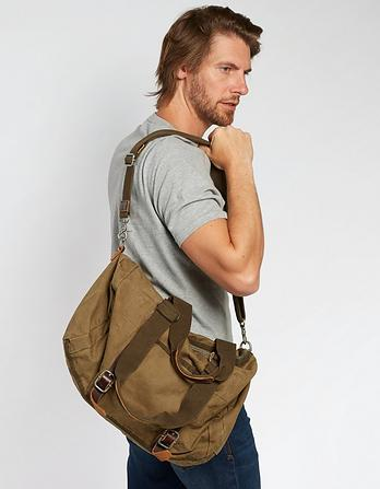 Heavy Canvas Holdall Bag