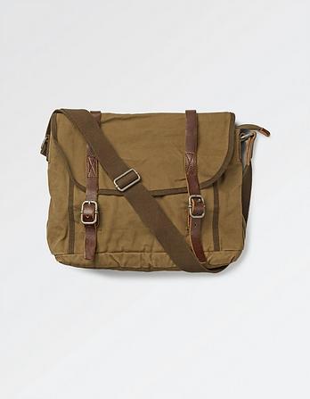 Heavy Canvas Messenger Bag