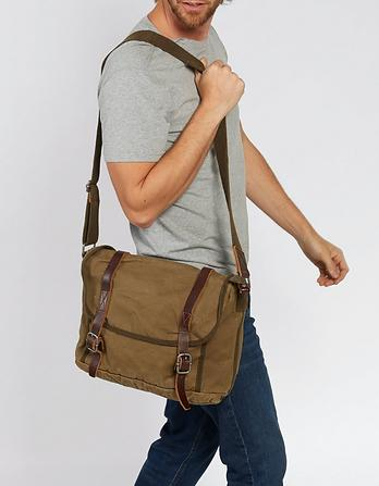 Heavy Canvas Messenger Bag