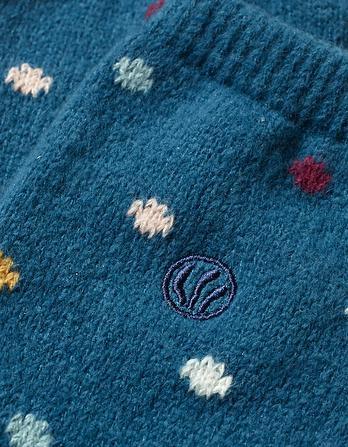 Spotty Knee High Socks