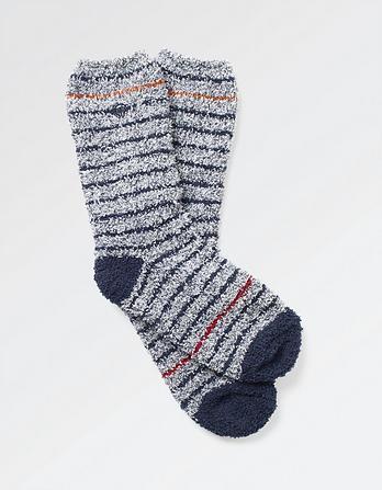 One Pack Stripe Idaho Socks