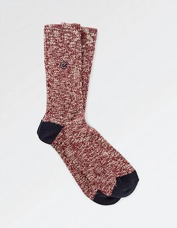 Twisted Yarn Socks