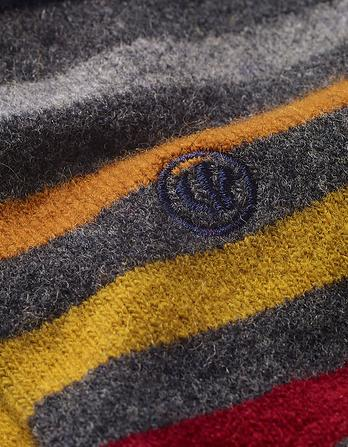 Merino Wool Stripe Socks