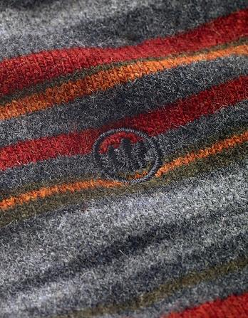 One Pack Merino Wool Stripe Socks