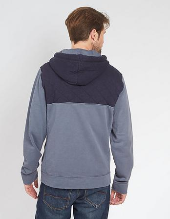 Quilted Overhead Hoody