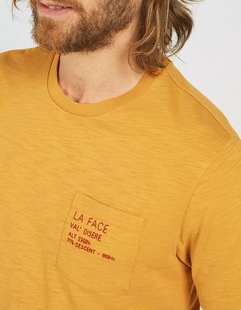 La Face Chest Graphic T-Shirt