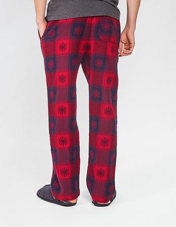 Snowflake Jacquard Lounge Pants