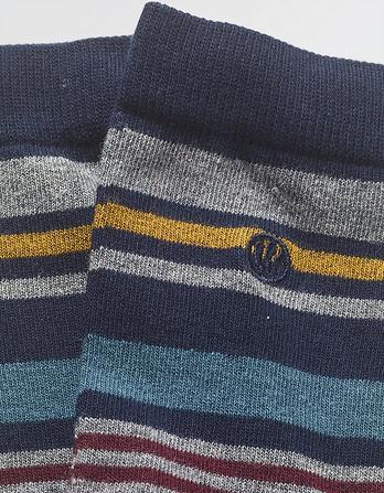 One Pack Ellis Stripe Socks
