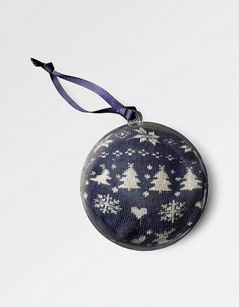 Fairisle Socks in a Bauble
