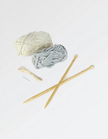 Knit Your Own Pom Pom Beanie