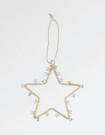 Star And Bell Christmas Tree Decoration