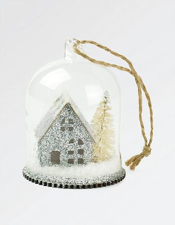 Little House Christmas Tree Decoration
