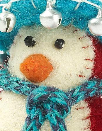 Felt Penguin Christmas Tree Decoration