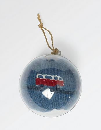 Van Socks in a Bauble