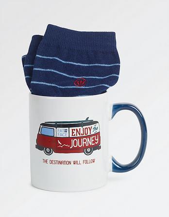 Van Socks in a Mug