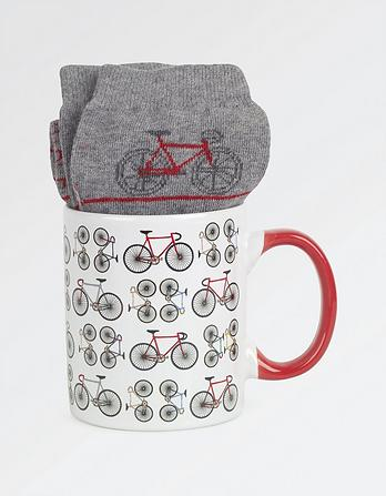 Bike Socks in a Mug
