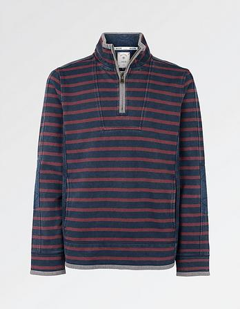 Breton Stripe Pocket Airlie Sweat