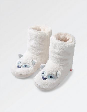 Snow Fox Slipper Boots