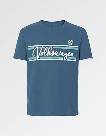 VW Camper Stripe Graphic T-Shirt