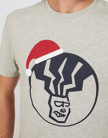 Fat Head Santa Hat Graphic T-Shirt