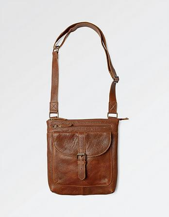 Lily Leather Cross Body Bag