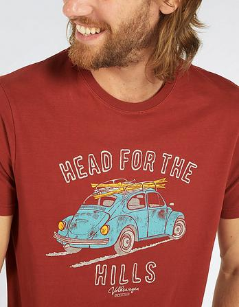 VW Head For Hills Graphic T-Shirt