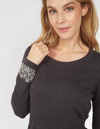 Polly Pattern Border Dress