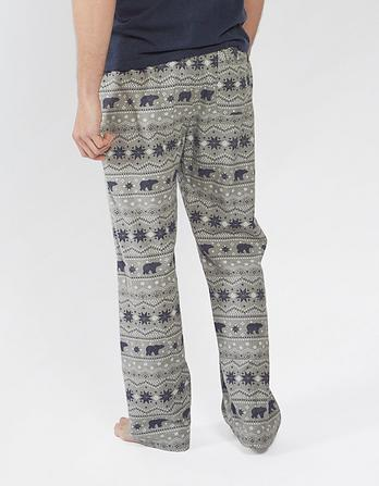 Sketch Nordic Print Lounge Pants