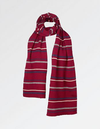 Spaced Stripe Scarf
