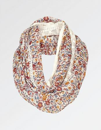 Meadow Floral Lace Snood