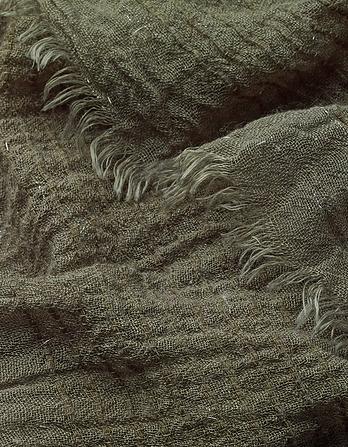 Lurex Textured Plain Scarf