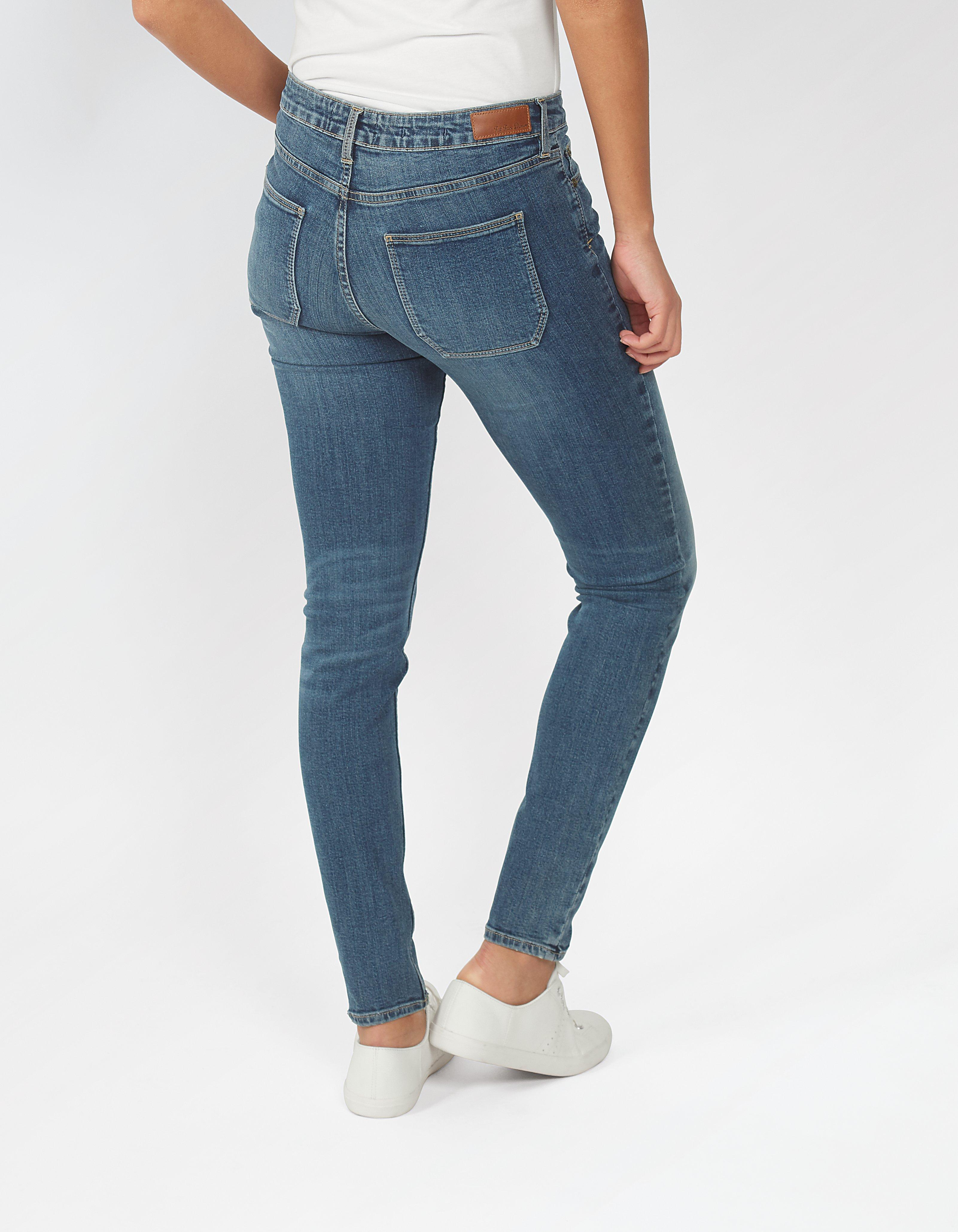 Mid Wash Super Skinny Jeans