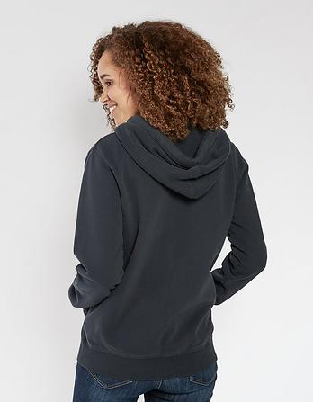 Heritage Organic Cotton Zip Thru Hoody