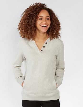 Hayle Notch Neck Sweat