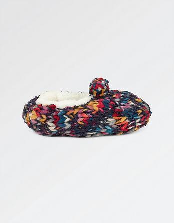 Multi Knit Ballerina Socks