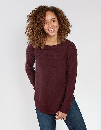 Claire Cable Sweater