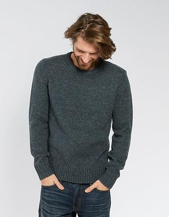 Calgary Twisted Crew Neck Jumper