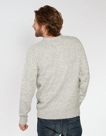 Bryce Cable Crew Neck Jumper