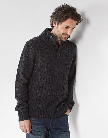 Stratton Half Neck Cable Jumper