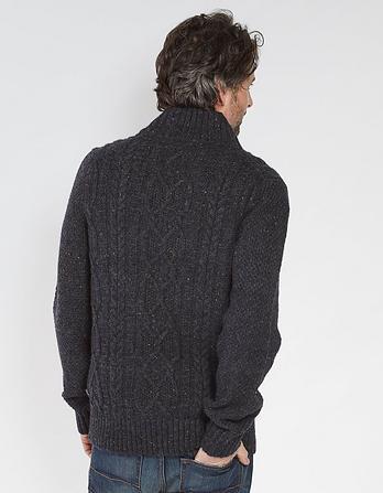 Stratton Half Neck Cable Sweater