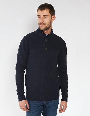 Amble Organic Cotton Half Neck Jumper