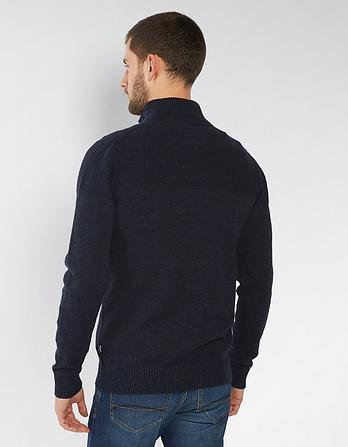 Amble Organic Cotton Half Neck Sweater
