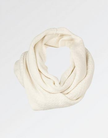 Cashmere Tuck Stitch Snood